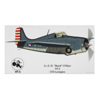 F4F Wildcat (O'Hare) Poster