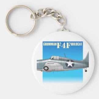 f4f wildcat side view keychain