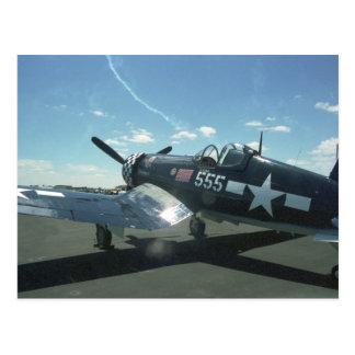F4U-1 Corsair Postcard