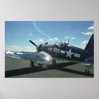 F4U-1 Corsair Poster