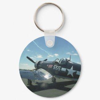 F4U Corsair 01 keychain