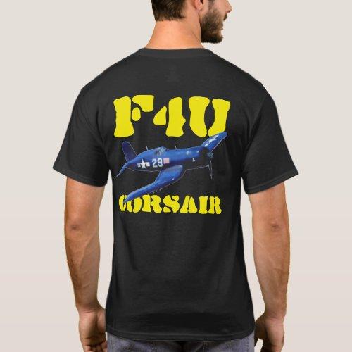 F4U CORSAIR BLACK SHEEP SQUADRON T_Shirt