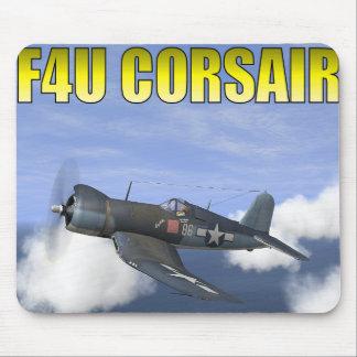 "F4U CORSAIR ""Lucybelle"" Mouse Pad"