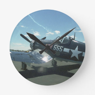 F4U Corsair Medium Wall Clock