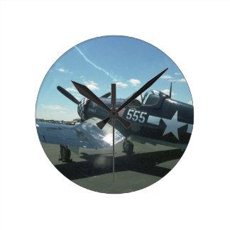 F4U Corsair Medium Wall Clock
