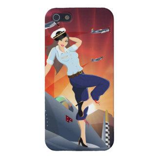 F4U-Corsair Pin-Up iPhone 5/5S Case