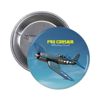 F4U Corsair Pinback Button