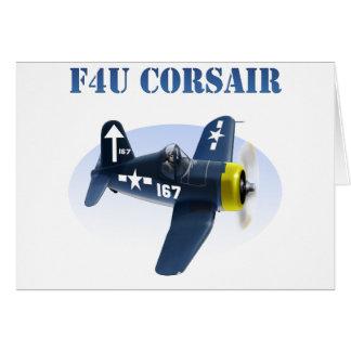 F4U Corsair Plane #167 Card