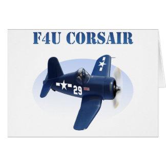 F4U Corsair Plane #29 Card