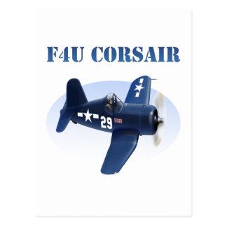 F4U Corsair Plane #29 Postcard