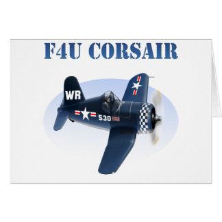 F4U Corsair plane #530 Card