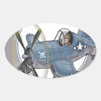 f4u corsair.png oval sticker