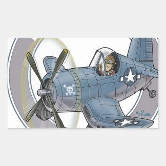 f4u corsair.png rectangular sticker