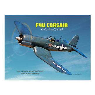 F4U Corsair Postcard