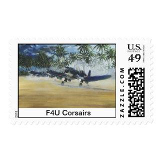 F4U Corsair Stamp