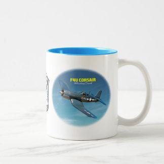 F4U Corsair Two-Tone Coffee Mug