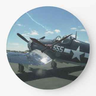 F4U Corsair Wall Clock