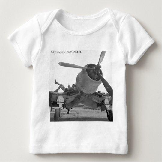F4U CORSIAR ON BOUGAINVILLE BABY T-Shirt