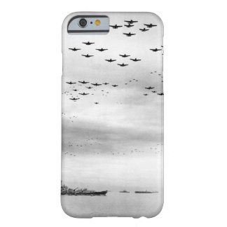 F4U's F6F's fly in formation during_War Image Barely There iPhone 6 Case