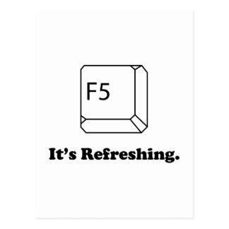 F5 It's Refreshing Postcard