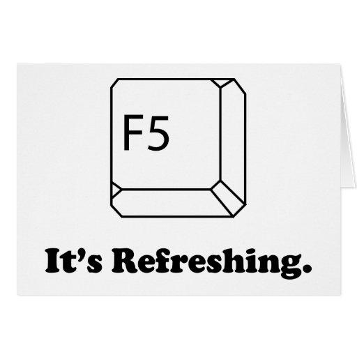 F5 que está restaurando tarjetas