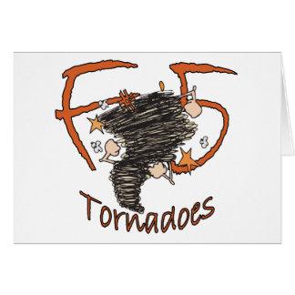 F5 Tornadoes Card