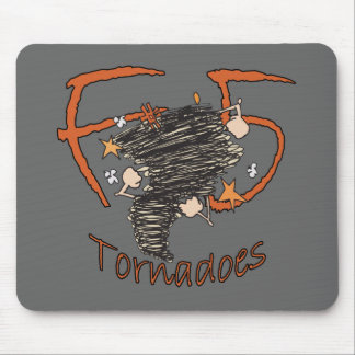 F5 Tornadoes Mouse Pad