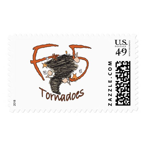 F5 Tornadoes Postage Stamps