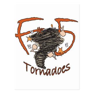 F5 Tornadoes Postcard
