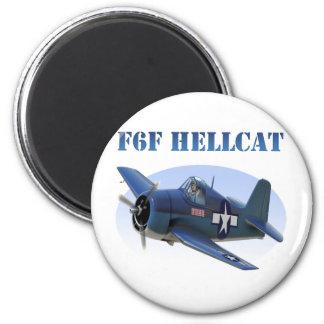 F6F Grumman Hellcat 2 Inch Round Magnet