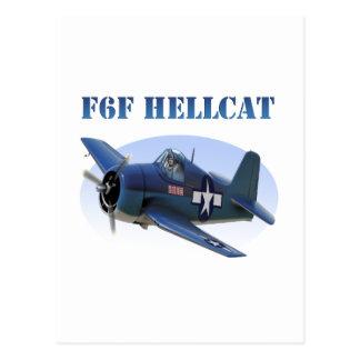 F6F Grumman Hellcat Postcard