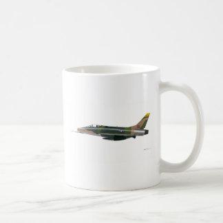 F-100 norteamericano SABRE estupendo 41851 Taza De Café
