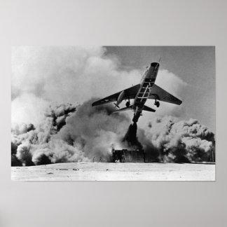 F-100 SABRE estupendo Poster