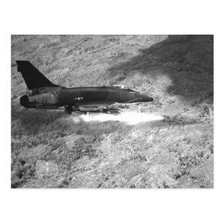 F-100 SABRE estupendo Postales
