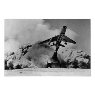 F-100 Super Sabre Poster