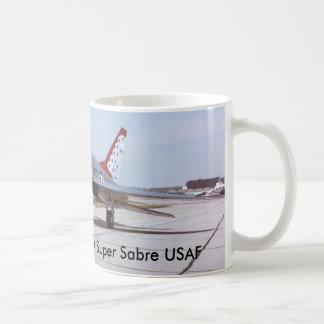 F-100D Super Sabre USAF Coffee Mug