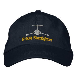 F-104 Golf Hat Embroidered Hat