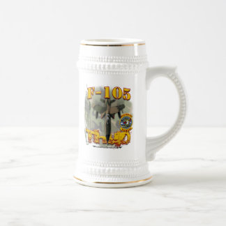 F-105 WW Custom Beer Stein w/call sign Mug