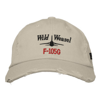 F-105G Golf Hat Embroidered Hats