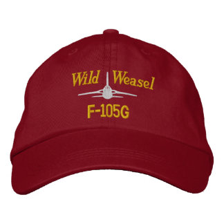 F-105G Golf Hat Embroidered Baseball Cap