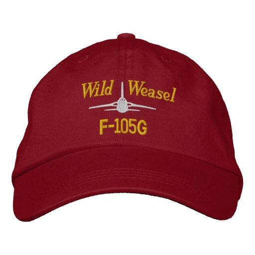 F-105G Golf Hat Embroidered Baseball Cap