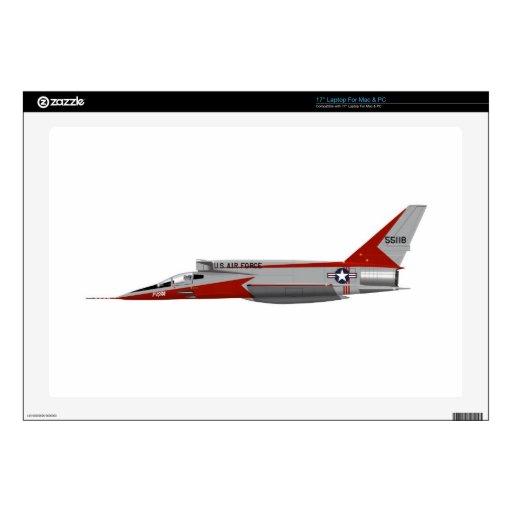 F-107A norteamericano SABRE estupendo Calcomanías Para Portátiles