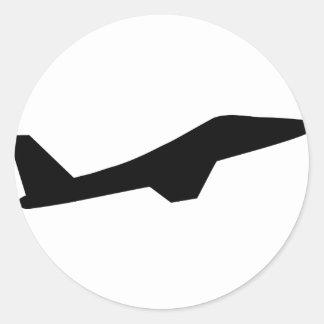 f 10 bomber black sticker