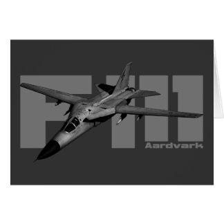 F-111 Aardvark Card