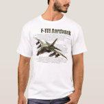 """F-111 Ardvark "" T-shirt"