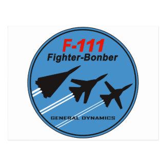 F-111 Patch Postcard
