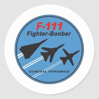 F-111 Patch Sticker