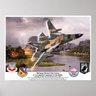 F-111A Wings Over Vietnam Aardvark Poster