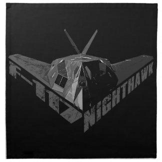 F-117 Nighthawk Cloth Napkins (set of 4) dinner 2