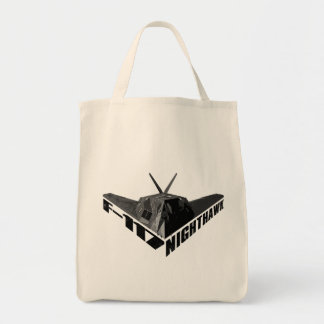 F-117 Nighthawk Grocery Tote